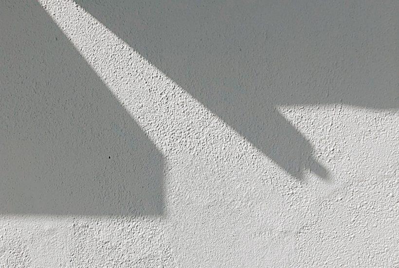 en betongvägg utan hål
