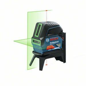 Bild på en Bosch GCL 2–15 G korslaser