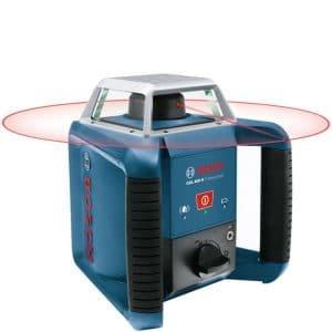 Bosch GRL 400 H är den bästa rotationslasern för en hemmasnickare